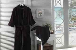 simay-tekstil-bathrobe-set-kahverengi